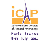 2014 - 28th International Congress of Applied Psychology